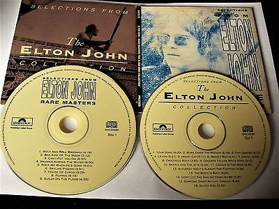 Selection From The Elton John Rare Masters/Collection 2Cd 1992 Import Usa Rare!!