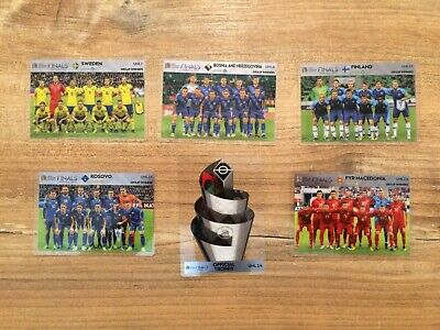 Panini Road to Euro 2020 Adrenalyn XL UEFA Nations League UNL Cards