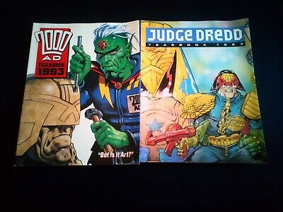 20000AD/Judge Dredd Year Book's x 2 (1993)
