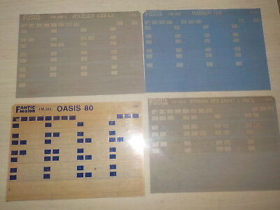 Lot Microfiches Fantic Raider.oasis.strada.......