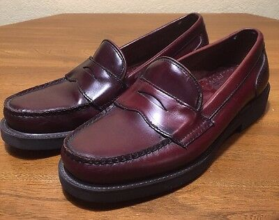 b05e5ca468f VINTAGE MEN S COACH LEATHER BROWN PENNY LOAFER SHOES SIZE 9.5 MADE ...