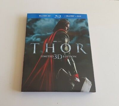Thor Bluray 3d Limited Slipcase