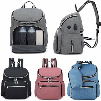 New in bag Babymoov glober rucksack changing bag with changing mat in cherry