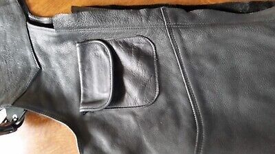 Vintage Heavy Duty Motorcycle Chaps 3XL, New Never Worn