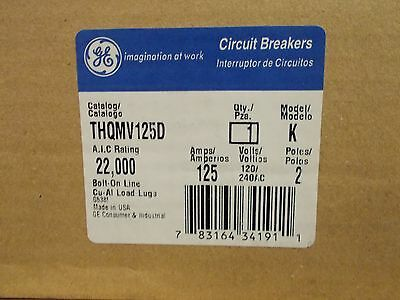 general electric THQMV125D  125amp main breaker