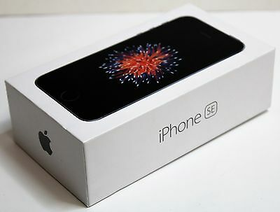 Apple iPhone SE 16GB Space Gray (Unlocked) AT&T A1662 (GSM) New Other SEALED BOX