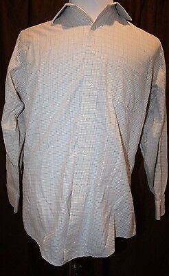Brooks Brothers Flannel Dress Shirt 15 32 Multi Color Cotton Wool Blend