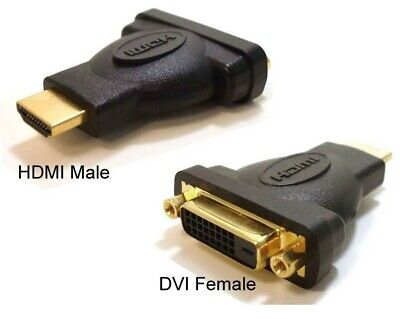 Astrotek HDMI to DVI-D Adapter - HDMI (Male) to DVI-D (Female)