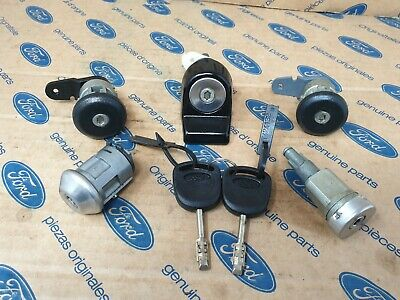 FORD FIESTA MK3  LOCKSET Plus 2 keys  Genuine Ford not  a copy  ( 93/96 )