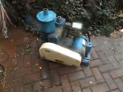 Hull VAc pump with Balador motor 100 kilos plus !