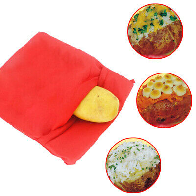 Accessory Cooking Bag Washable Reusable Baked Potato Microwave Express Practical