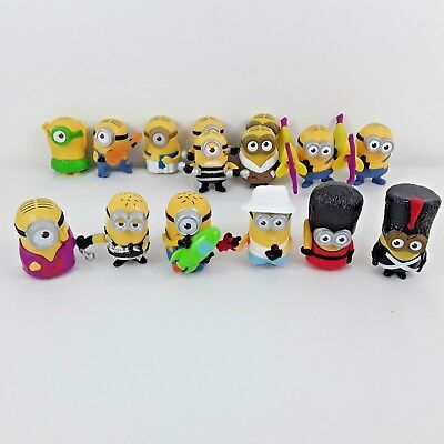 15 x MINIONS DESPICABLE ME MCDONALDS HAPPY MEAL TOYS