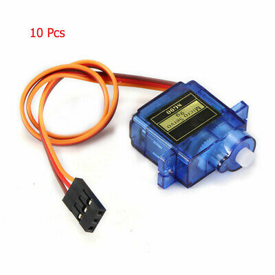 10PCS SG90 9g Gear Mini Micro Servo RC Helicopter Airplane Robot Car Boat New