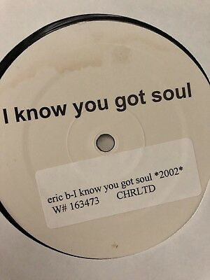 "I Know You Got Soul  12"" Club House Vinyl Record 12"" UK Boot Dance Rap Hip Hop"