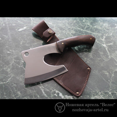 Cleaver Malaay made in Russia with  sheath