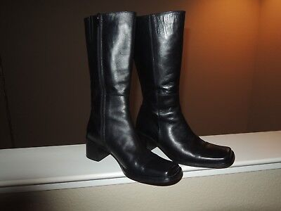 VERA GOMMA WOMENS Boots Sz 37 US 6.5 7 Tobacco Color Inside