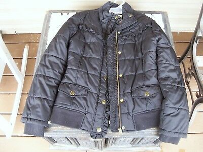 Limited Too Girls SIZE 16 Black Puffer Jacket