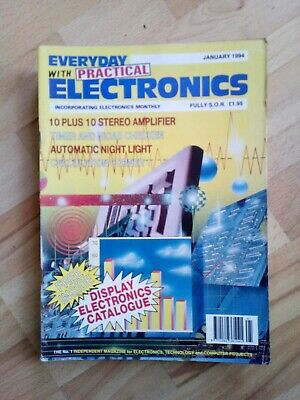 Everyday With Practical Electronics - January 1994