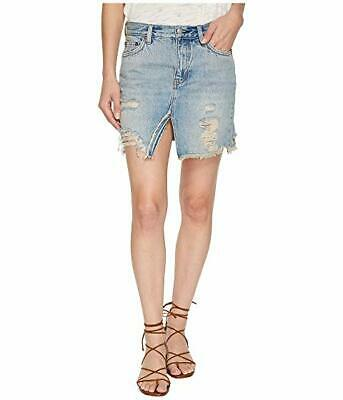 2af073e09 Free People Relaxed and Destroyed Skirt MSRP $60 Size 28 # 6C 581 NEW
