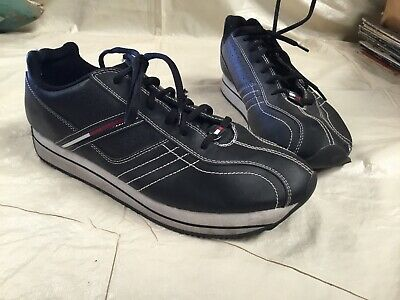 19ca452f54b2 TOMMY HILFIGER SPENCE Men s Slip On Sneakers Shoes Brown Size 10 ...