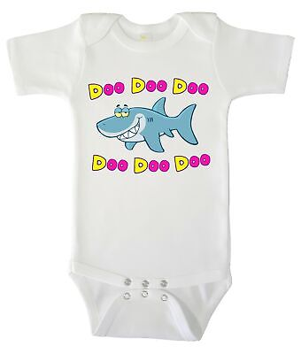 Baby Bodysuit - Baby Shark Cute Baby Clothes for Infant Boys and Girls