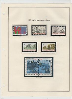 U.S. 1973 Commemorative Year Set, 32 items Complete, mNH Fine