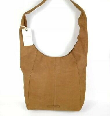 27c4da6ce20 Lucky Brand Patti Tote Shoulder Bag Soft Brown Suede Leather Hobo Umber NWT  $198