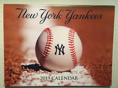 2019 New York Yankees Wall Calendar Schedule Sga Yankee Stadium 3/3/19 2018 2019
