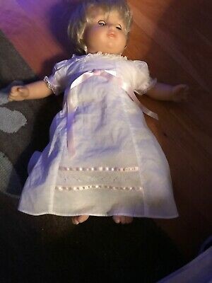 American Girl Doll Bitty Baby Christening Gown New Doll Not Included
