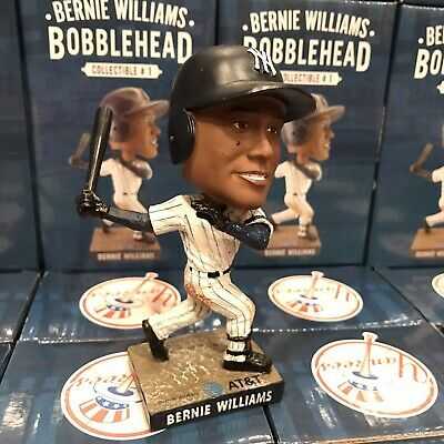 Bernie Williams New York Yankees Bobblehead Statue Figurine SGA 4/12/19 Baseball