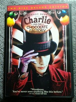 Charlie And The Chocolate Factory 2 Disc Deluxe Edition Dvd *buy 2 Save 10%*