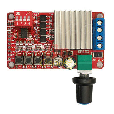 5A 120W DC 5V-26V Motor Forward Reverse Controller Reversible Speed Driver Board