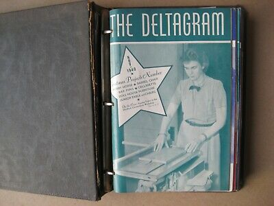 "27 1940's ""The Deltagram"" - by the Delta Manufacturing Company"