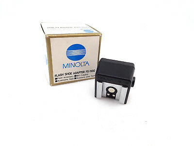 Minolta Flash Shoe Adapter FS 1100 Flash Shoe Adapter Flash Adapter