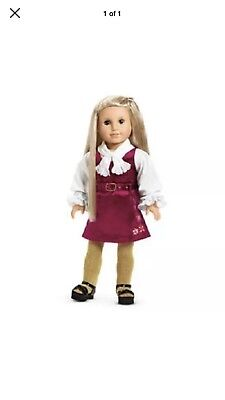 American Girl Doll Julie retired dress And Blouse Doll, Tights Shoes Not Include
