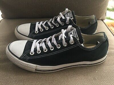 e3813e67e965ba Converse Chuck Taylor Low Top   Black   White   Men s Size 10   Women s Size