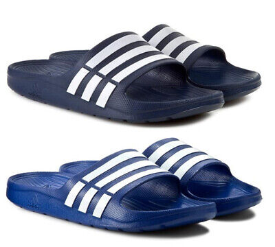 7d39052b4a2 Adidas Duramo Slides Chaussures Hommes Sandales Chaussons Chaussons Tongs  Sabots