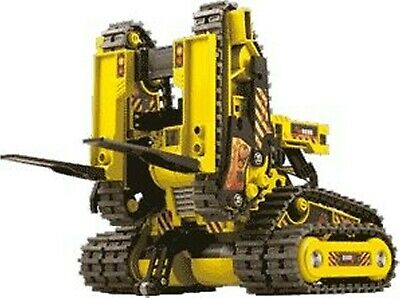Generic 3-in1 All-Terrain Robot Kit wired Remote Control -Forklift/Rover/Gripper