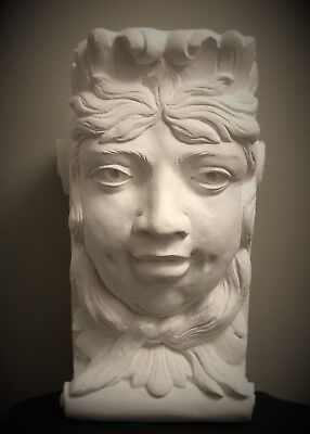 Dimple Lady Wall Corbel Bracket Shelf Architectural Accent Home Decor