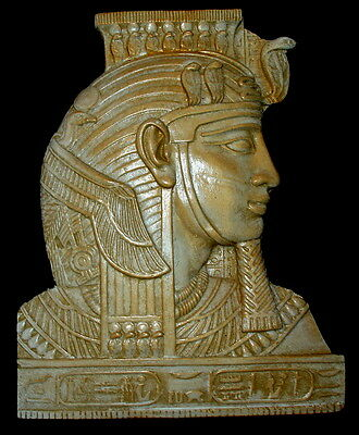 Ancient Egyptian Wall Sculpture King Tut Face Mask