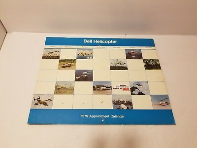 2009 BELL HELICOPTER Calendar Full Year - $14 99 | PicClick
