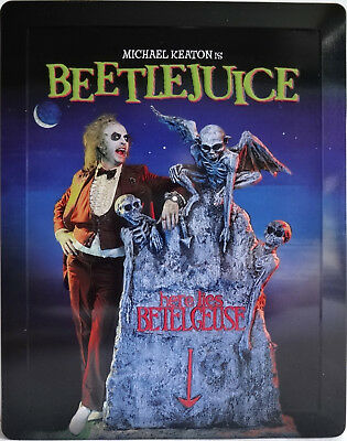 Beetle Juice Steelbook Limited Edition Disney Zavvi (1x BR ALL Regions) NEW