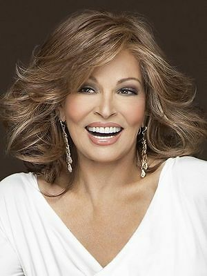 GODDESS Wig by RAQUEL WELCH, *ALL COLORS!* Tru2Life Heat Friendly, Mono Top NEW