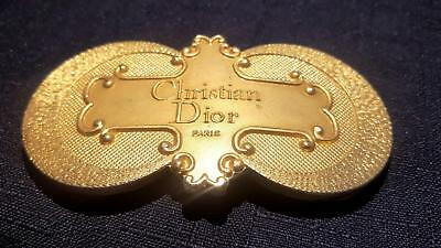 Christian Dior Paris Stunning Buckle -  Boxed -What A Find