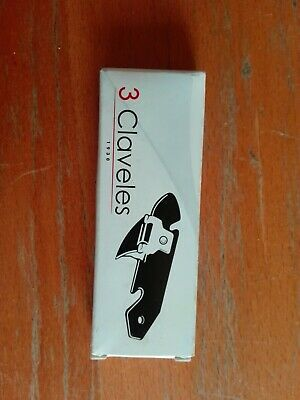 Abrelatas Can Opener Modelo Tipo Explorador Marca 3 Claveles Made In Spain