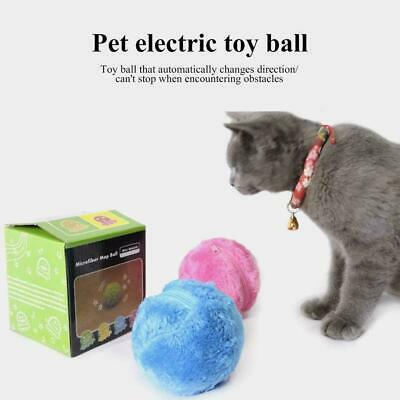 Magic Roller Ball Automatic Dog Cat Toys Robotic Microfiber Mop Ball Sweeper