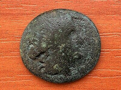 "Thrace, Mesembria 200 BC AE21 ""Athena Promachos"" Ancient Greek Bronze Coin"