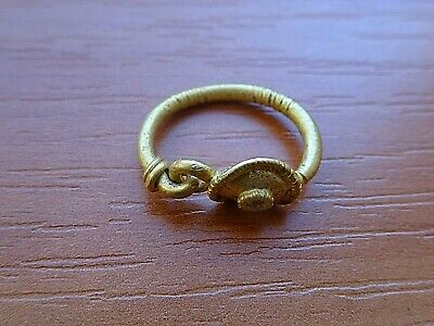 """AMAZING"" Ancient Roman GOLD Earring Circa 100 BC - 100 AD Very Rare"