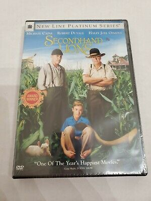 Secondhand Lions (DVD, 2004, Platinum Series) factory sealed new