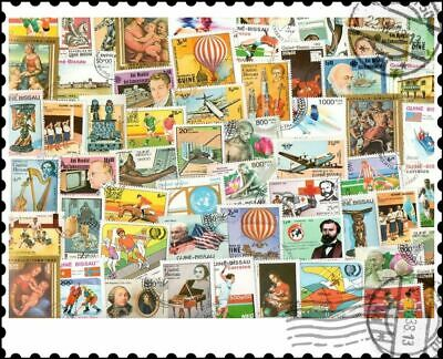 Guinea Bissau : 100 Different Stamps Collection